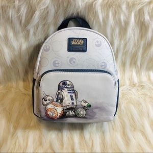 NWT Disney Loungefly Star Wars mini backpack